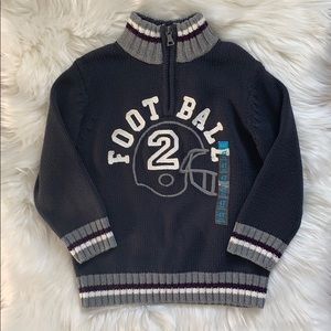 Children's Place   Football Pull Over Sweater